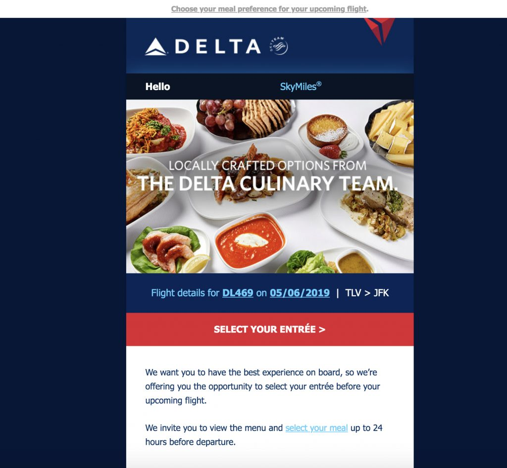 Delta Meal Select