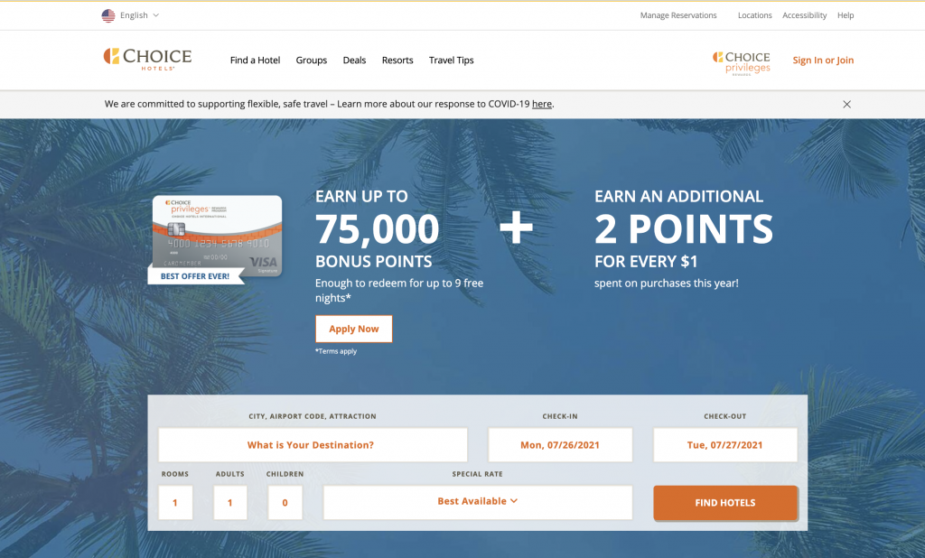Choice Hotels Corporate Code Search